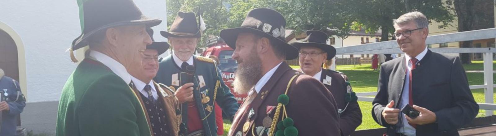 Bataillonsschützenfest Ehrwald Bild